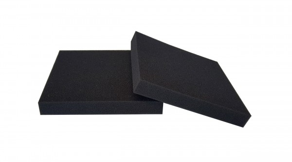 Filterschaum Polyester PPI 60 schwarz-20mm