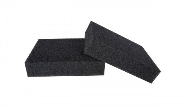 Filterschaum Polyester PPI 30 schwarz-40mm