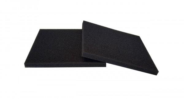 Filterschaum Polyester PPI 45 schwarz-10mm