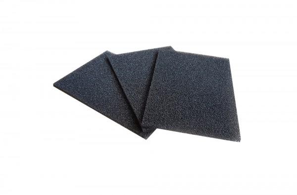 Filterschaum Polyester PPI 30 schwarz-5mm