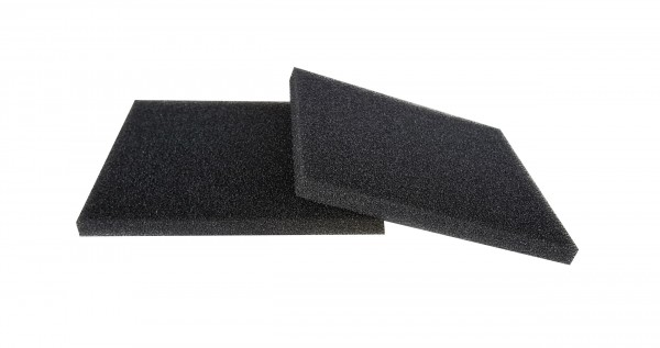 Filterschaum Polyester PPI 30 schwarz-10mm