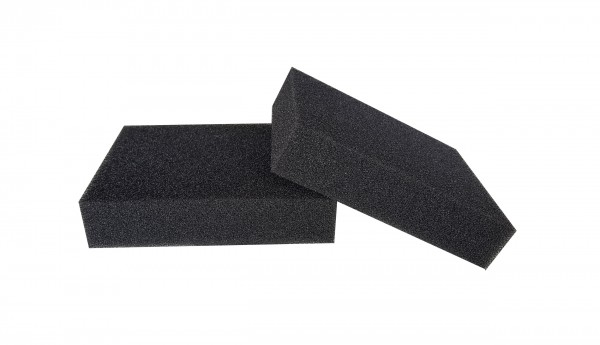 Filterschaum Polyester PPI 30 schwarz-50mm
